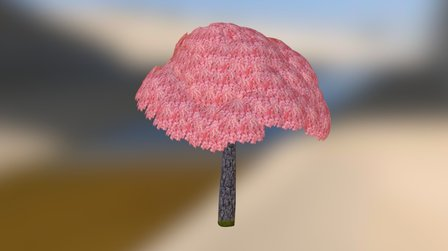 Prop_Cherry_Blossom_Tree 3D Model
