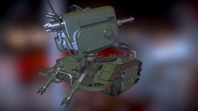 Sentry WIP 2 3D Model