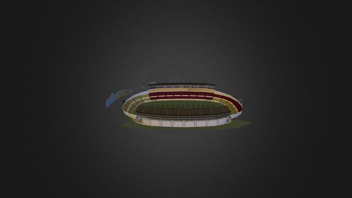 Estadio Morelos 3D Model