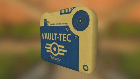 Holotape By Vault-Tec 3D Model