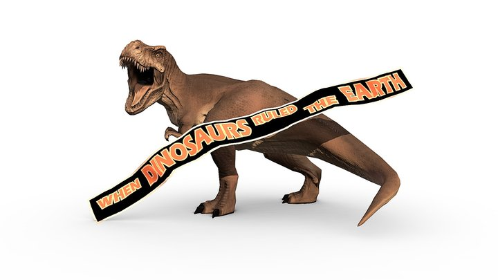 Jurassic Park Tyrannosaurus Rex 3D Model