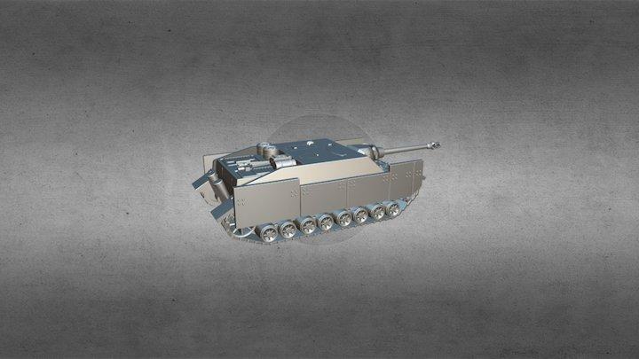 Jagdpanzer IV/L48 3D Model