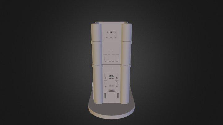 Tower Bridge - Tower 3D Model