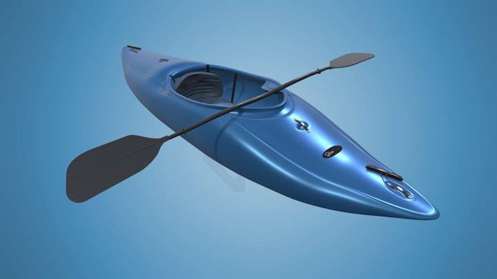 kayak_animation 3D Model