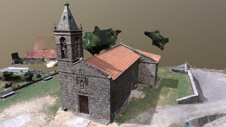 Igrexa de Curro. Barro. Pontevedra 3D Model
