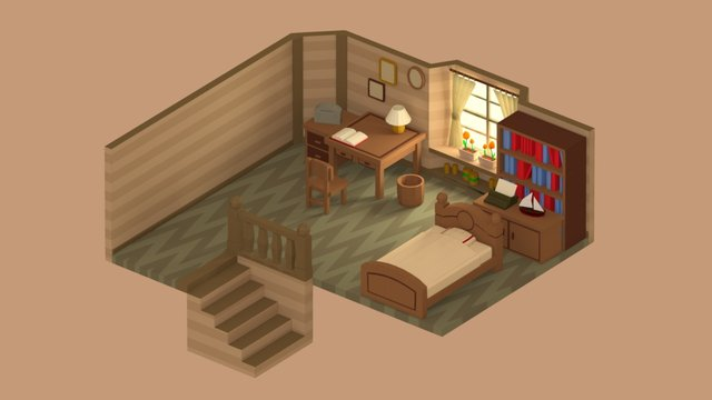 Chrono Room 3D Model