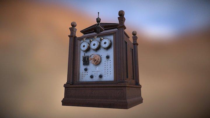 Opulent Laboratory Control Panel 3D Model
