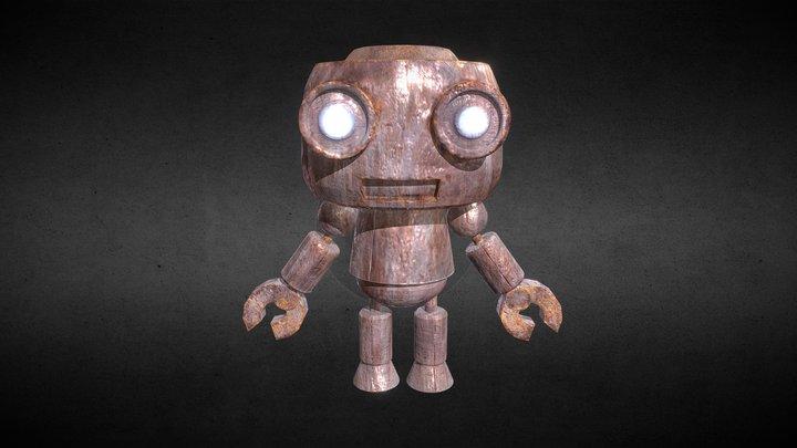 Junk Robot 3D Model