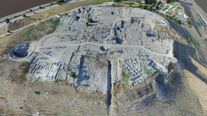 Tel Megiddo 3D Model