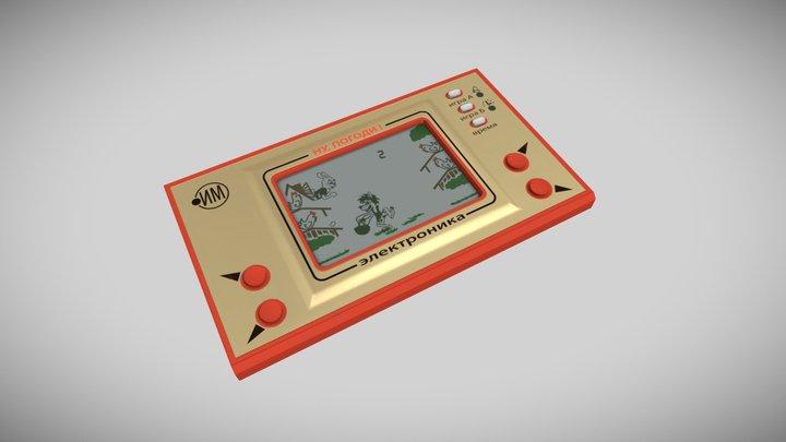 Handheld game console Nu, pogodi! 3D Model
