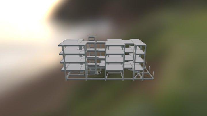 16-03-beton SEM PILAR 3D Model