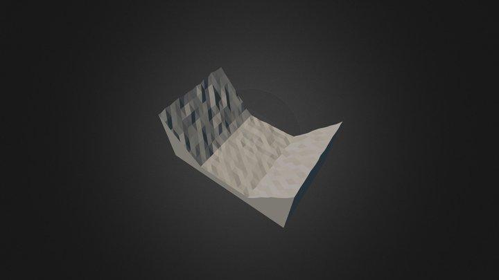 Val En Fondo Plano 3D Model