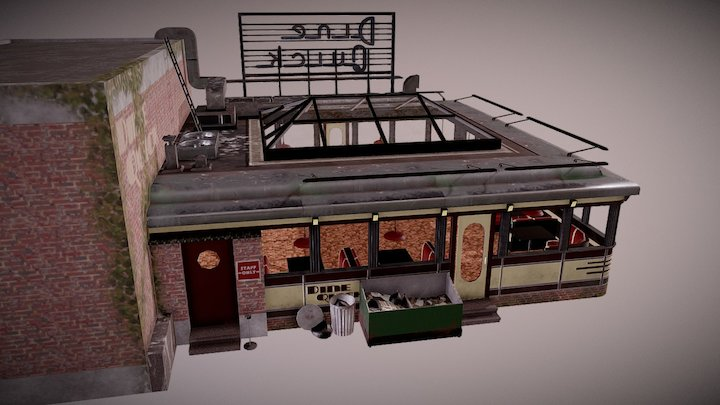 Dine Quick - The Red Stare VR 3D Model