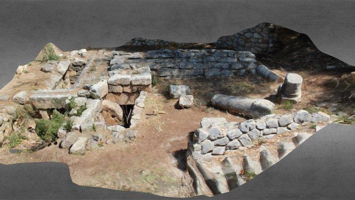 Roman tomb 3D Model