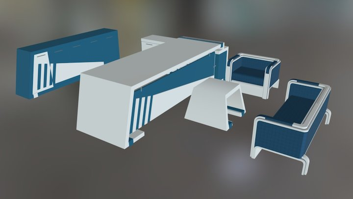 Lanfa 3D Model