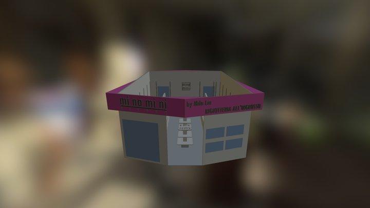 minamini shop Chibi 2015 3D Model