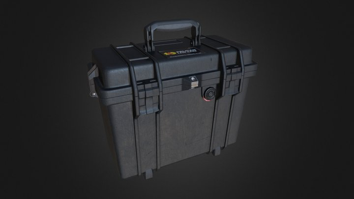 Pelican case 3D Model