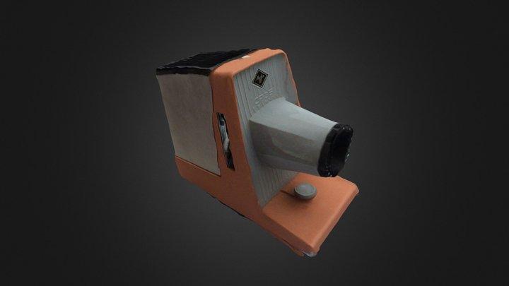 AGFA Diaprojektor 3D Model