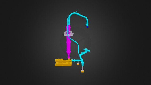 3D Modeling thought Laser Scanner. 3D Model