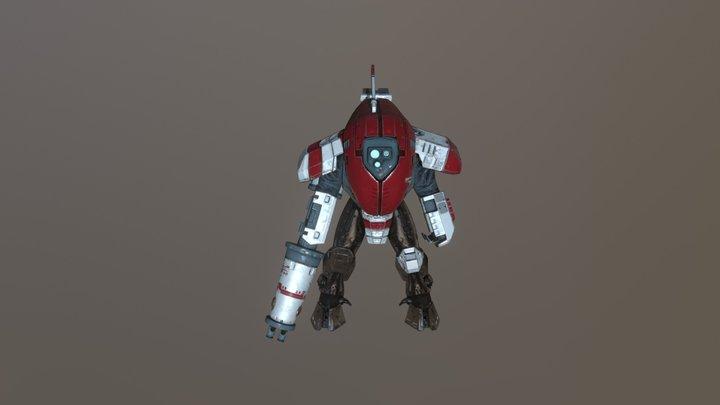 XV-25 Stealth Suit 3D Model