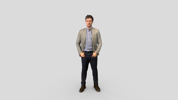 James 3D portrait 3D Model