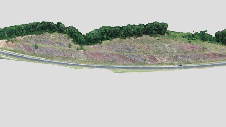 Hampshire Channel Sands 3D Model