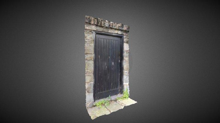Door in a wall, Conwy, North Wales 3D Model