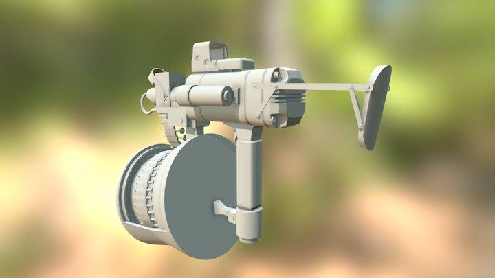 Nailgun V4 3D Model