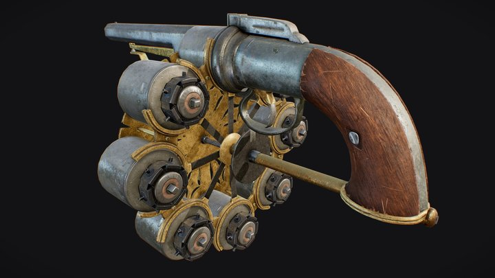 Enouy Revolver 3D Model