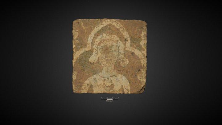 Medieval Decorative Floor Tile (119) 3D Model