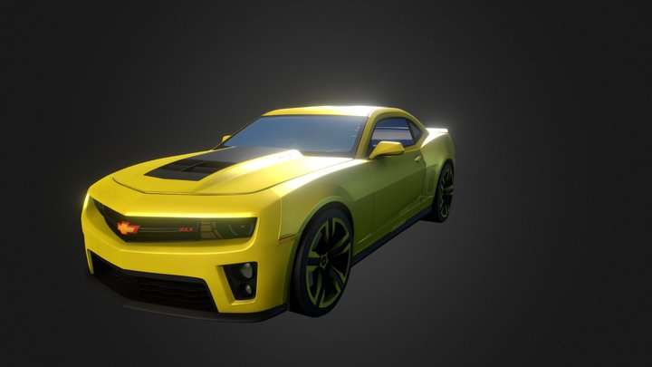 2012 Chevrolet Camaro ZL1 3D Model