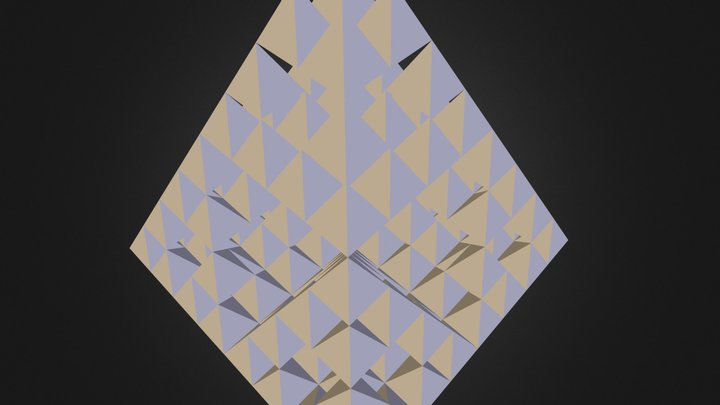 Sierpinski Pyramid 3D Model