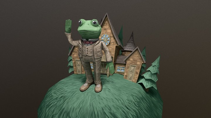 The Wind In The Willows — Toad Hall 3D Model