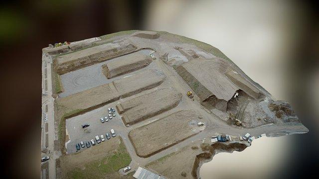 LATITUDE DRONE - Ecoquartier Les Rigoles 3D Model