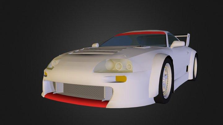 1995 Toyota Supra JGTC 3D Model