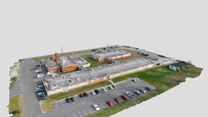 ERC Educational Building - Douglas Byrd High 3D Model