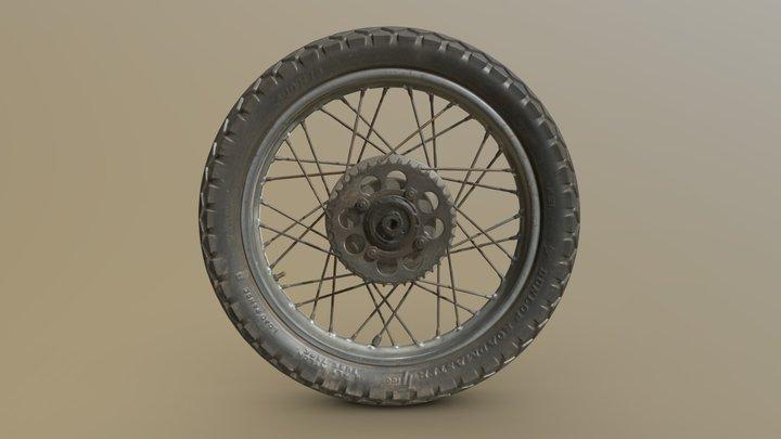 Motorcycle Wheel - Artec Eva 3D Scan 3D Model