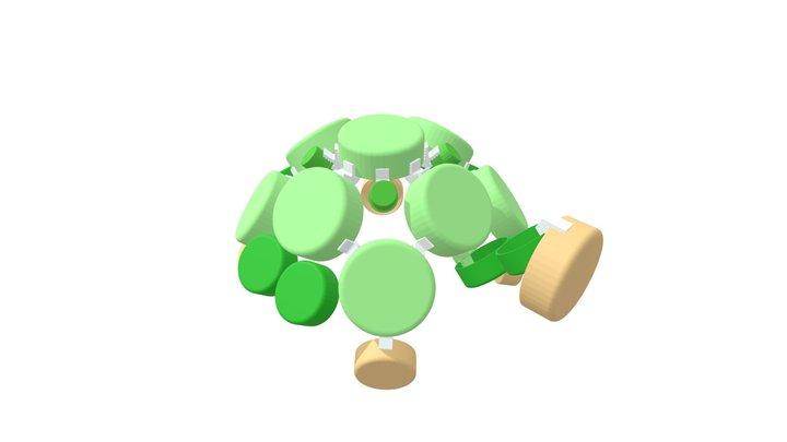 CLIP IT 3D - TURTLE / TORTUE 3D Model