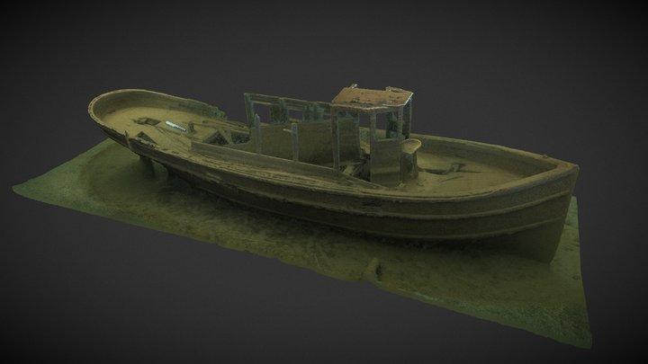 Isle Royale NP - Five Finger Tug 3D Model
