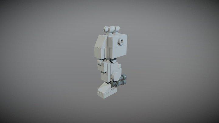 Sketchfab Frame Jaguar Leg Animation test 3D Model
