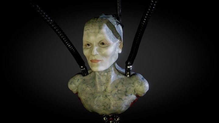 Borg Queen 3D Model