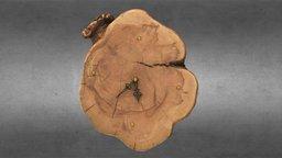 Wooden Clock by HolzEddy - 100% Photogrammetry 3D Model