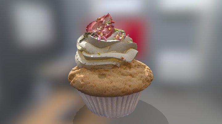 Ordinary vanillia cupcake - 1y of photogrammetry 3D Model