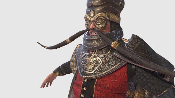 Stylized Sultan Character 3D Model