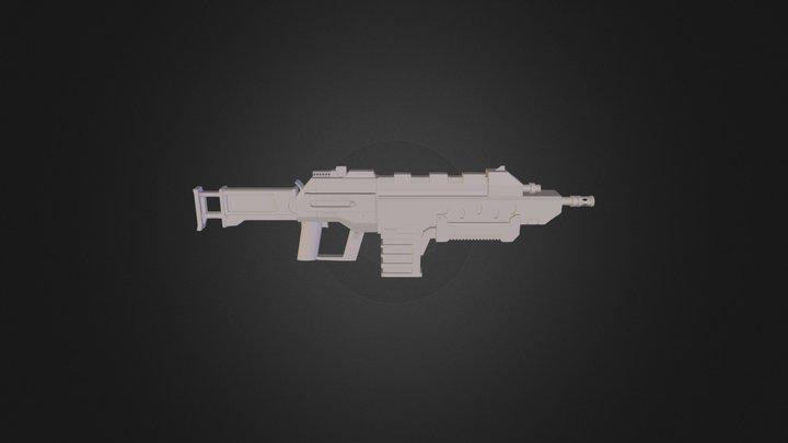 Assault Rifle 2 3D Model