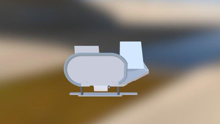 Sedgwick BosBox Turning Mirror Slider 3D Model