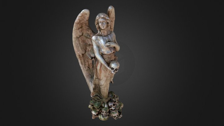 Angel of Death 3D Model