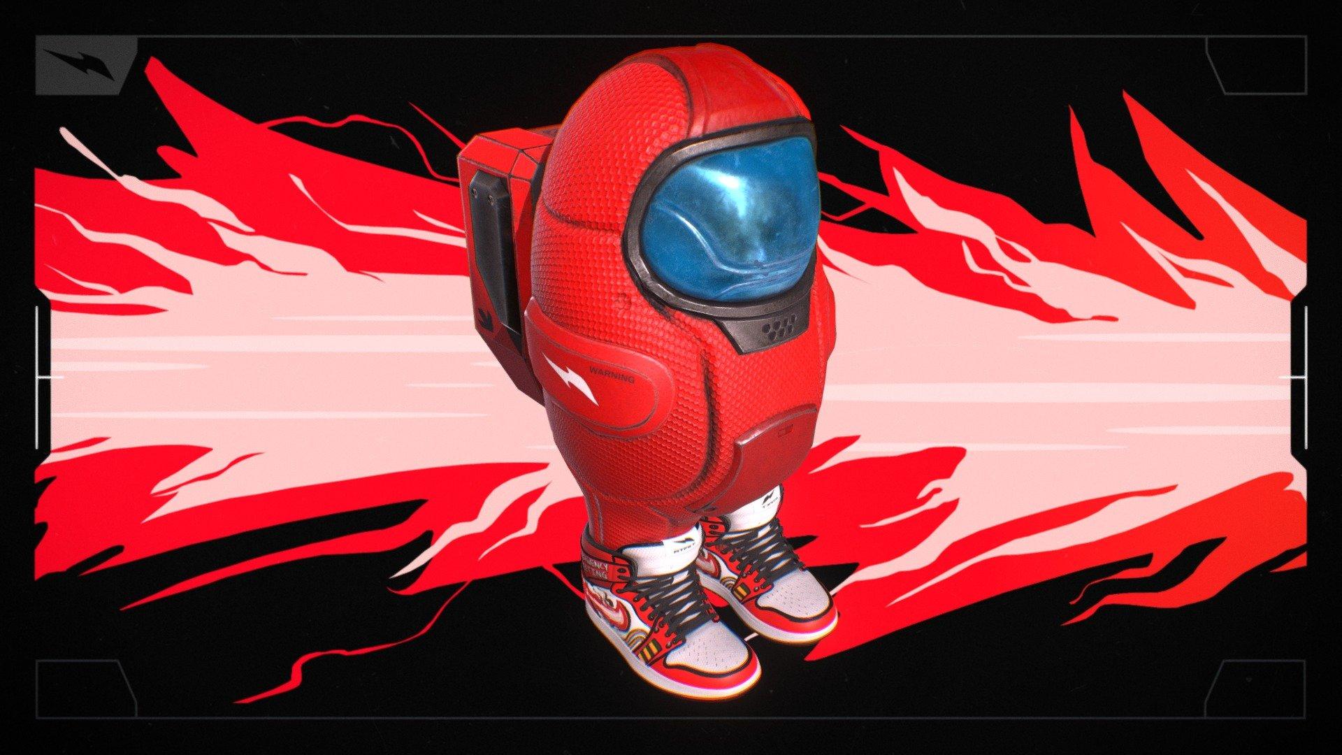Among Drip Download Free 3d Model By Rtfkt Studios Rtfkt 04f3d74 Sketchfab