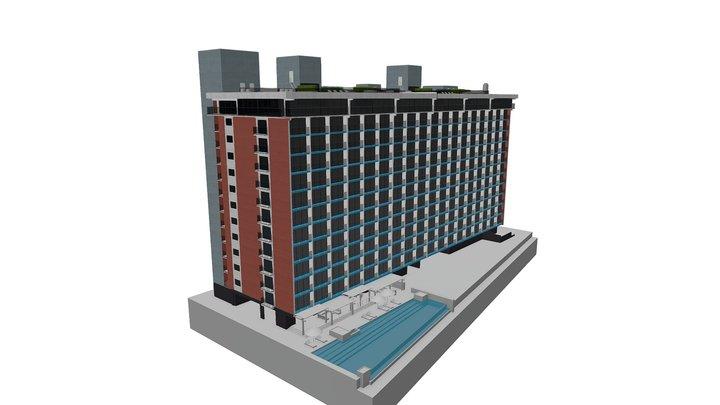 Capri Exterior 02 3D Model