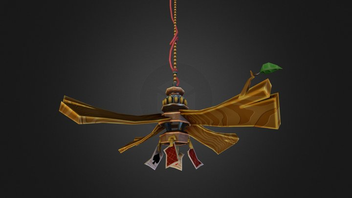 Fan (Sly Cooper: Thieves in Time) 3D Model